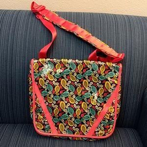 Vera Bradley Frill crossbody laptop/book bag